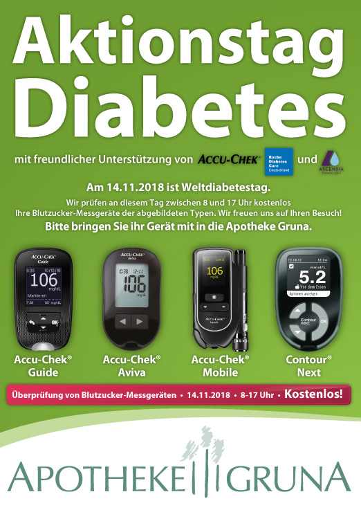 Aktionstag Diabetes
